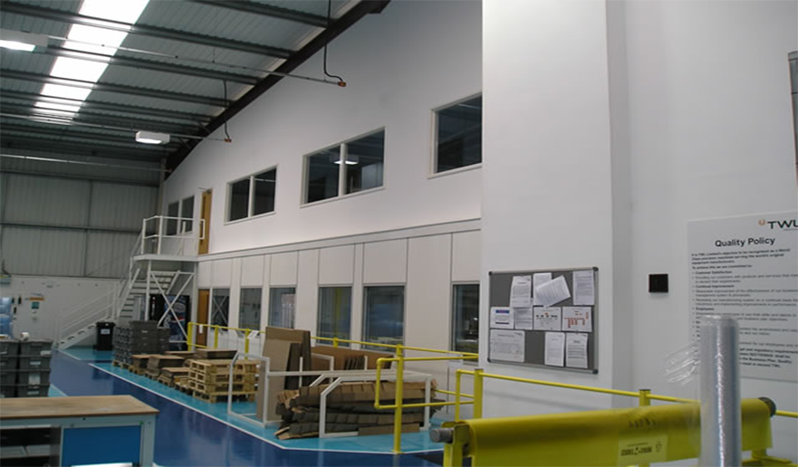 Soundproof gypsum Partitions