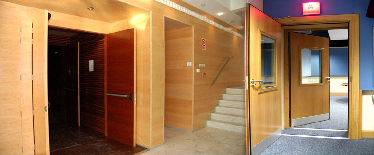 Auditorium Acoustic Doors