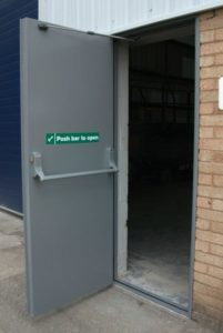 Fire exit Metal Doors