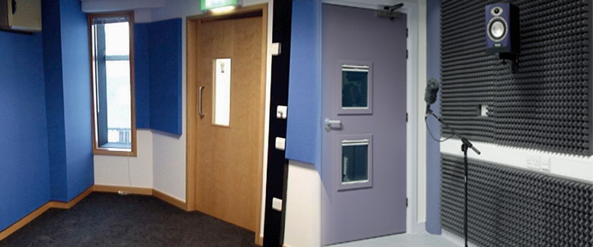Studio Soundproof Doors